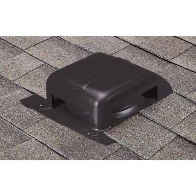Airhawk 40 In. Black Galvanized Steel Slant Back Roof Vent
