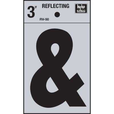 Hy-Ko 3 In. Vinyl Adhesive Symbol, Ampersand