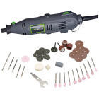 Genesis 120 Volt 1.0 Amp Variable Speed Electric Rotary Tool Kit with 40 Accessories Image 1
