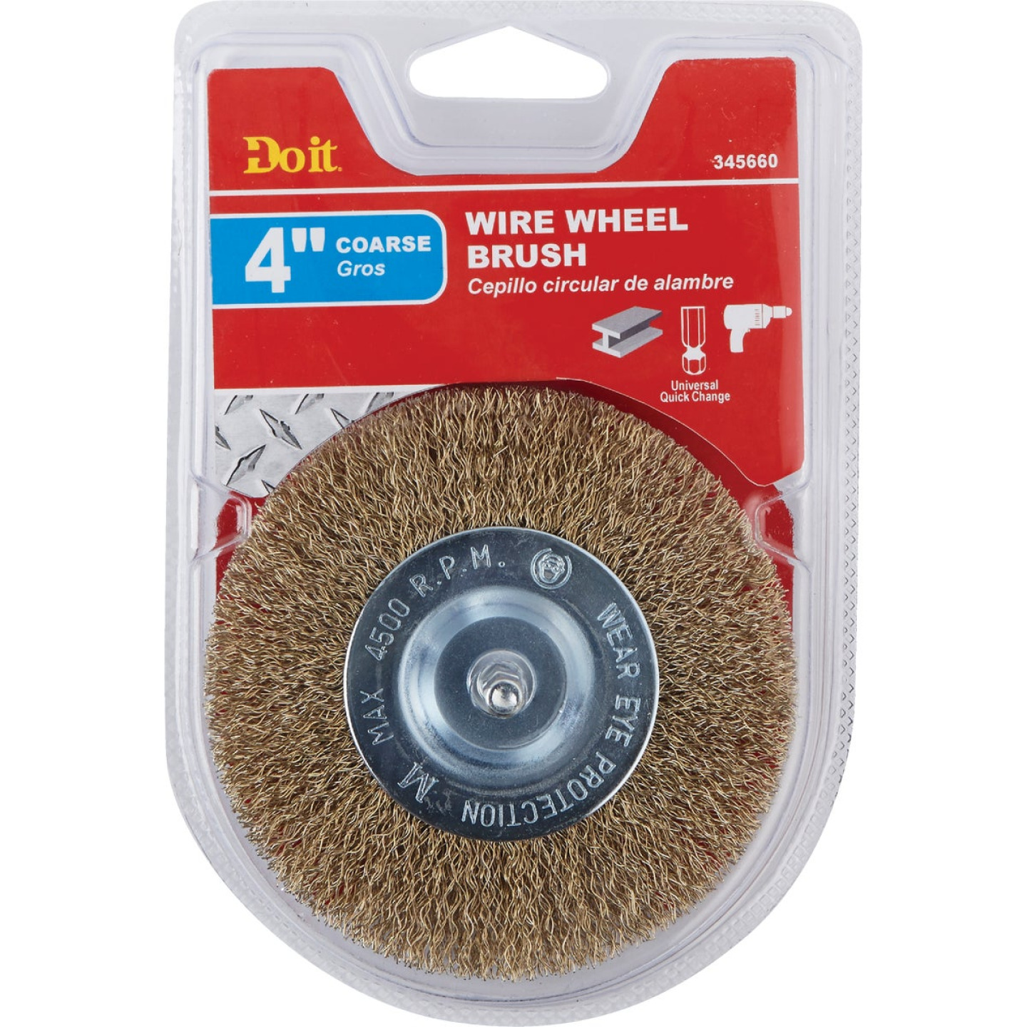 Do it 4 In. Mounted, Coarse Drill-Mounted Wire Wheel Image 2