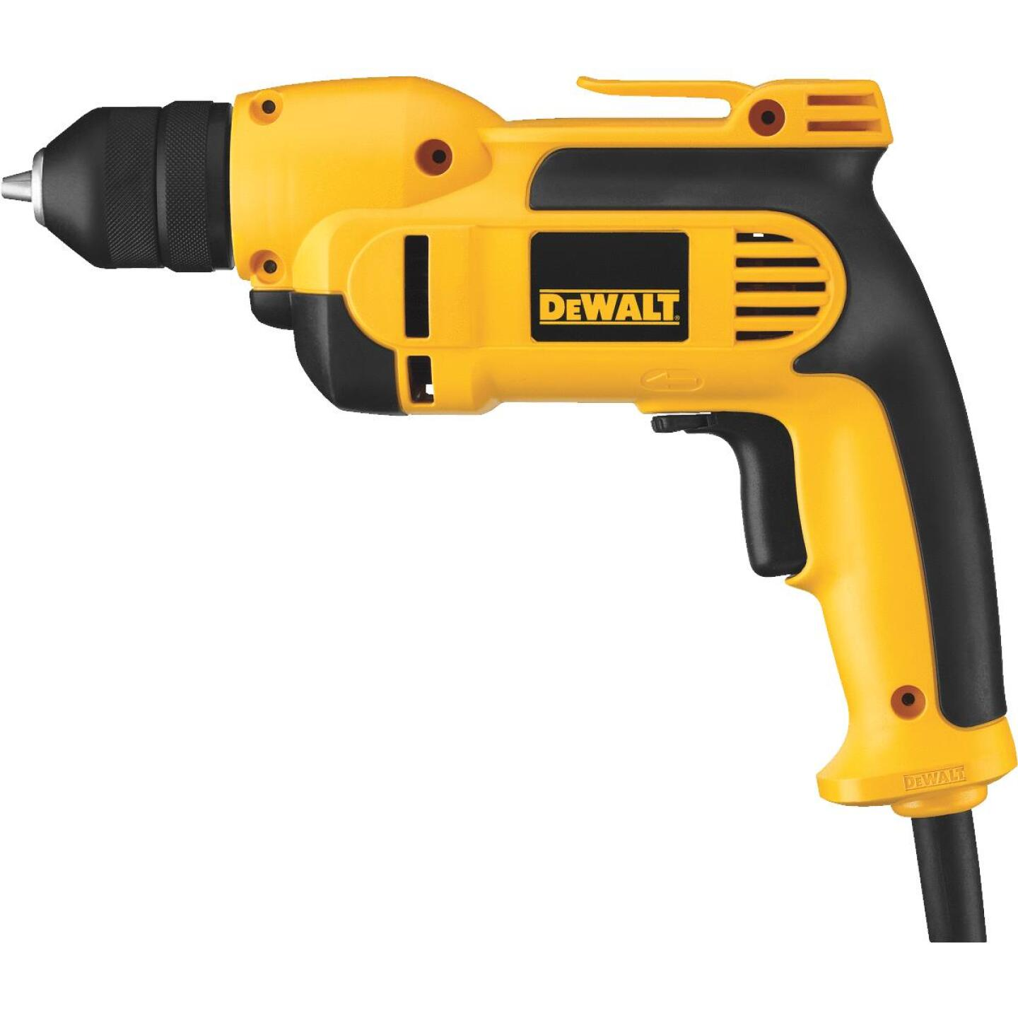 DeWalt 3/8 In. 8-Amp Keyless Electric Drill Image 1