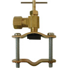 ProLine 3/8 In. Brass Self-Tapping Saddle Valve Image 1