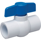 Proline 1 In. FIP x 1 In. FIP PVC Schedule 40 Quarter Turn Ball Valve, Non-NSF Image 1