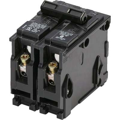 Connecticut Electric 50A Double-Pole Standard Trip Interchangeable Packaged Circuit Breaker
