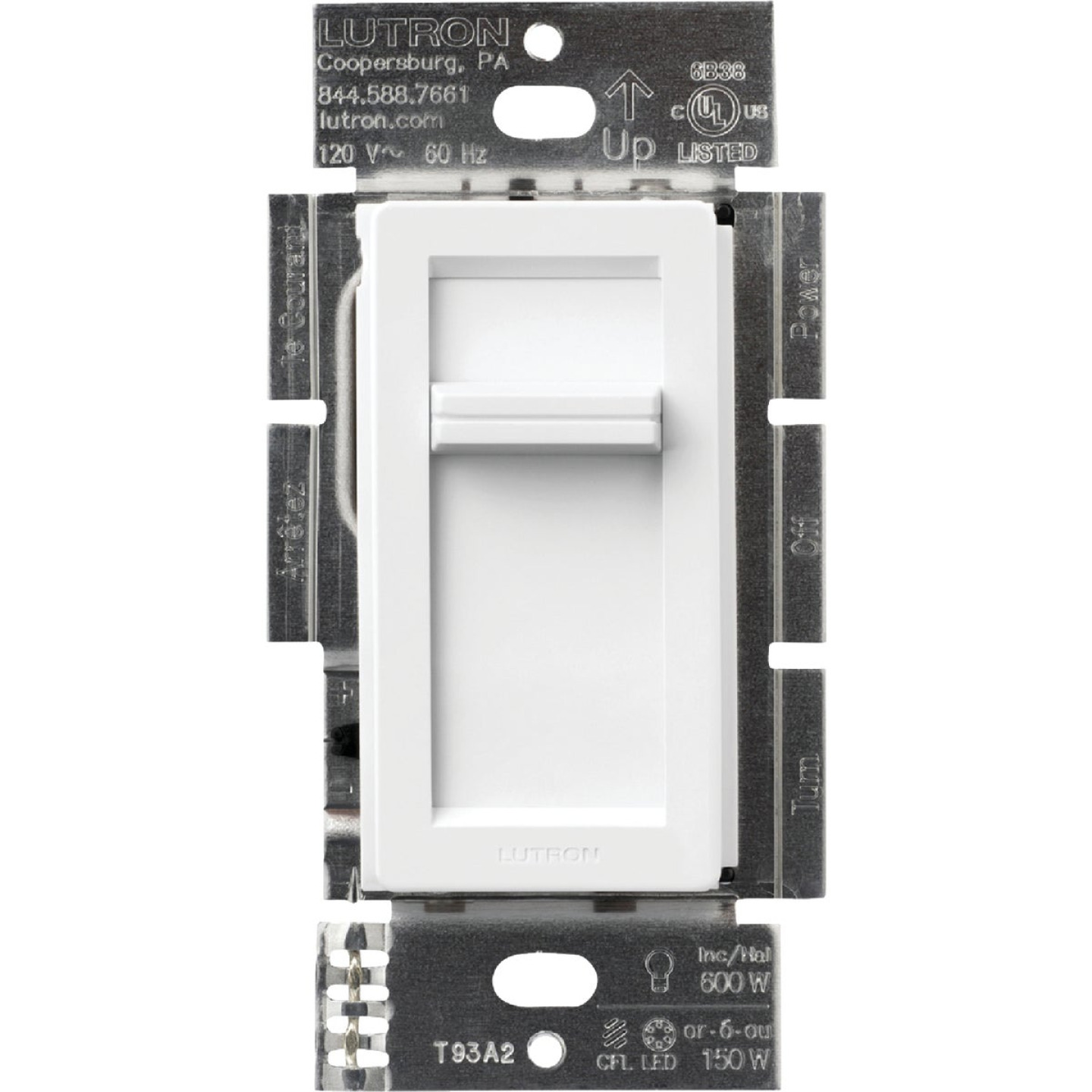 Lutron Lumea CL White 120 VAC Wireless Dimmer Image 3