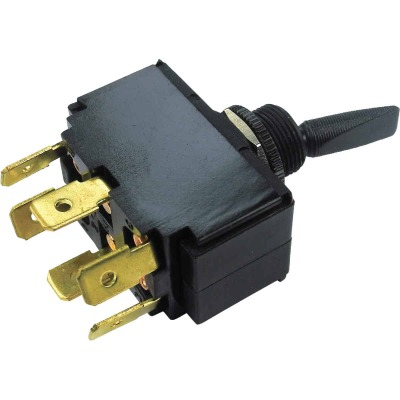 Seachoice 3-Position/6-Terminal 15A/12V Toggle Switch
