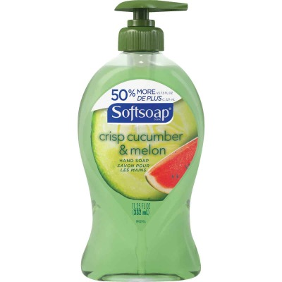 Softsoap 11.25 Oz. Crisp Cucumber & Melon Liquid Hand Soap