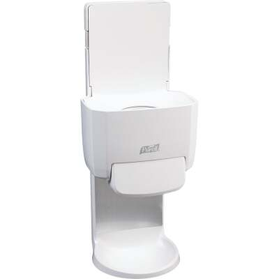 Purell ES4 Push-Style White 1200mL Hand Sanitizer Dispenser