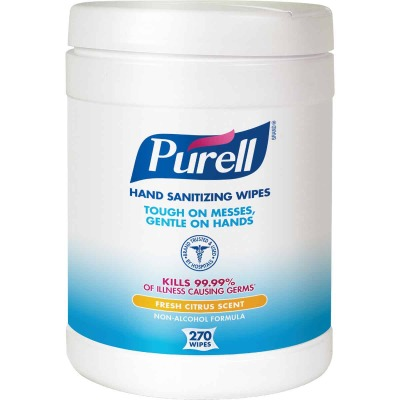 Purell Fresh Citrus Scent Hand Sanitizing Wipes (270 Count)