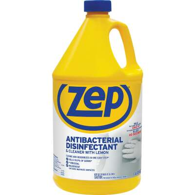 Zep Commercial 128 Oz. Lemon Antibacterial Disinfectant All-Purpose Cleaner