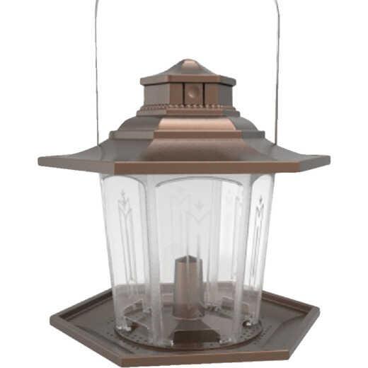 Stokes Select SureFill No Spill Bronze Plastic Lantern Bird Feeder