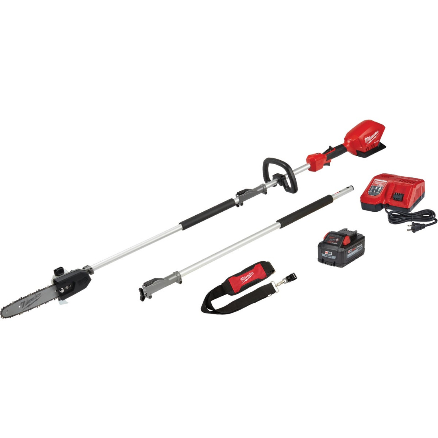 Milwaukee M18 Fuel 10 In. Pole Saw Kit with Quik-Lok Attachment Capability Image 1