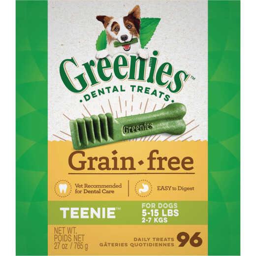 Greenies Teenie Toy Dog Original Flavor Grain-Free Dental Dog Treat (96-Pack)
