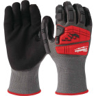 Milwaukee Impact Cut Level 5 Men's XL Nitrile Dipped Work Gloves Image 3