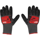Milwaukee Impact Cut Level 5 Men's XL Nitrile Dipped Work Gloves Image 2