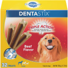 Pedigree Dentastix Large Dog Beef Flavor Dental Dog Treat (32-Pack) Image 1