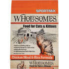 SportMix Wholesomes 15 Lb. Chicken & Fish Flavor All Ages Dry Cat Food Image 1