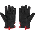 Milwaukee Impact Cut Level 5 Men's XL Goatskin Leather Work Gloves Image 1
