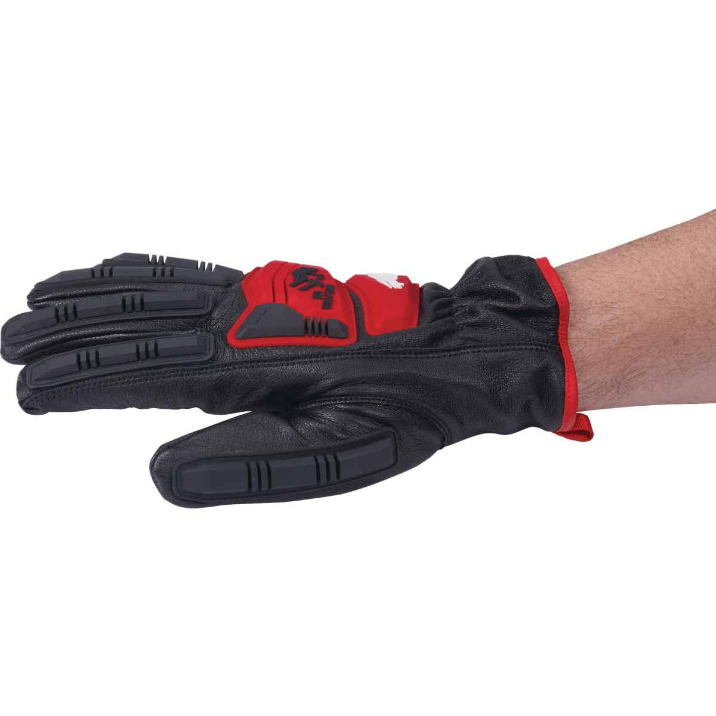 Milwaukee Impact Cut Level 5 Men's XL Goatskin Leather Work Gloves Image 4