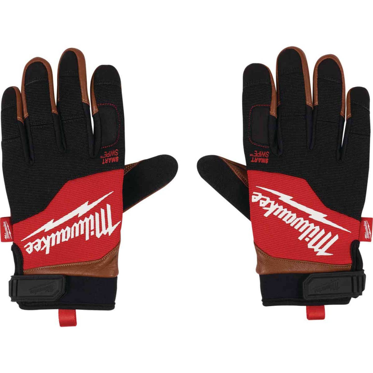 Milwaukee Men's Large Leather Performance Work Glove Image 4