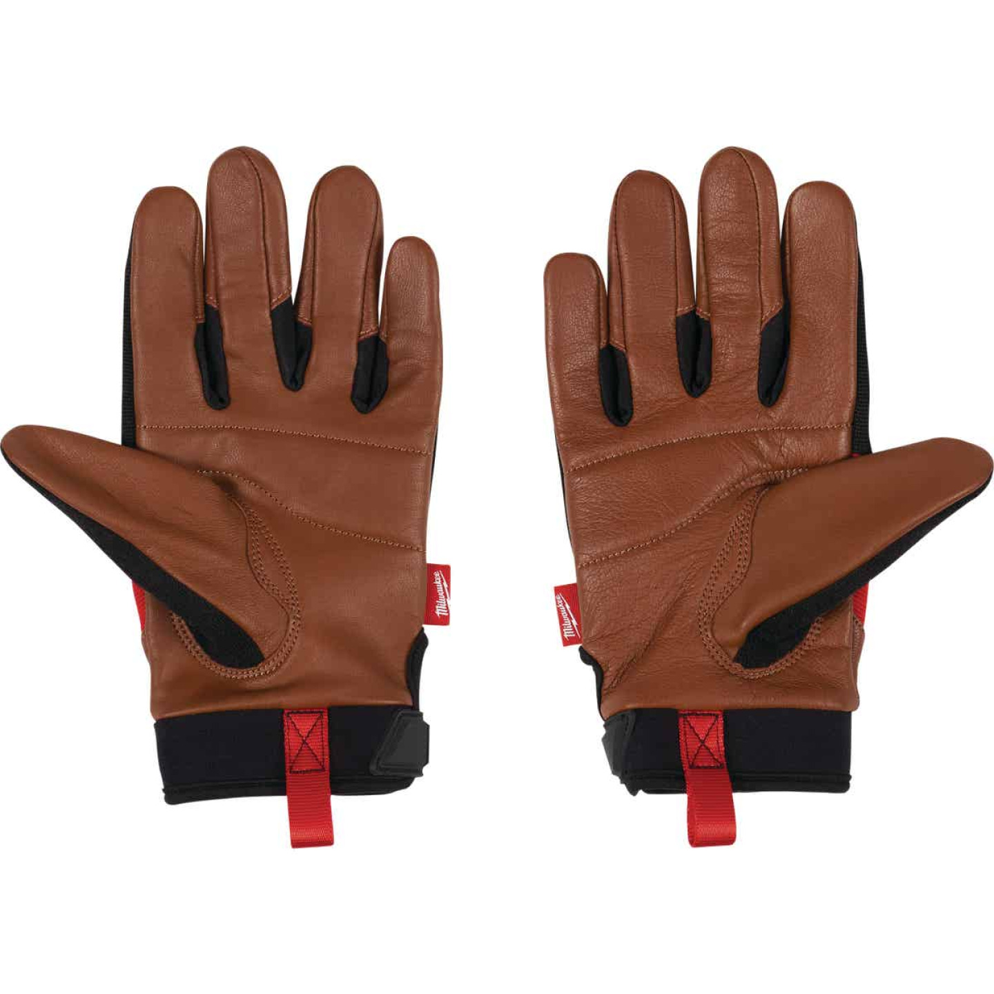Milwaukee Men's XL Leather Performance Work Glove Image 5
