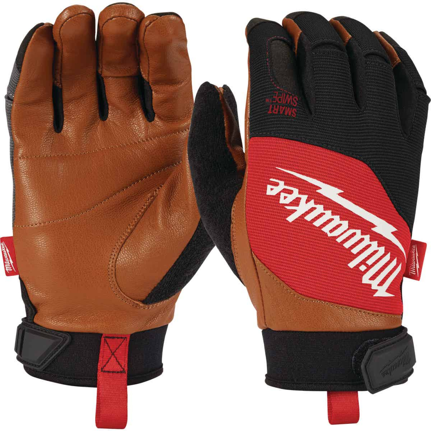 Milwaukee Men's XL Leather Performance Work Glove Image 1