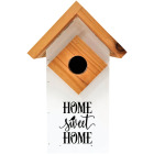 Nature's Way 6.75 In. W. x 11 In. H. x 6 In. D. Cedar Farmhouse Bluebird House Image 1
