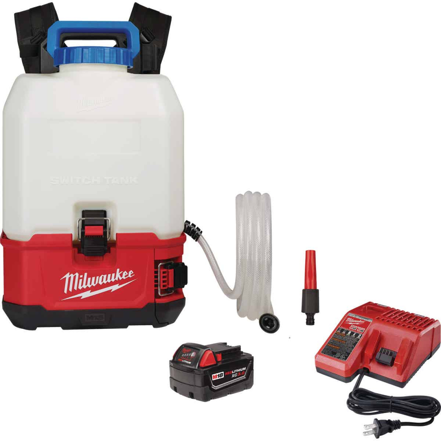 Milwaukee M18 Switch Tank 4 Gal. Backpack Water Supply Kit Image 1