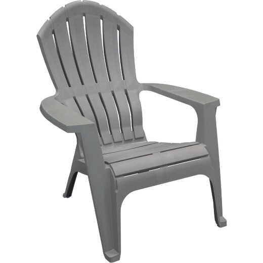 Adams RealComfort Gray Resin Adirondack Chair