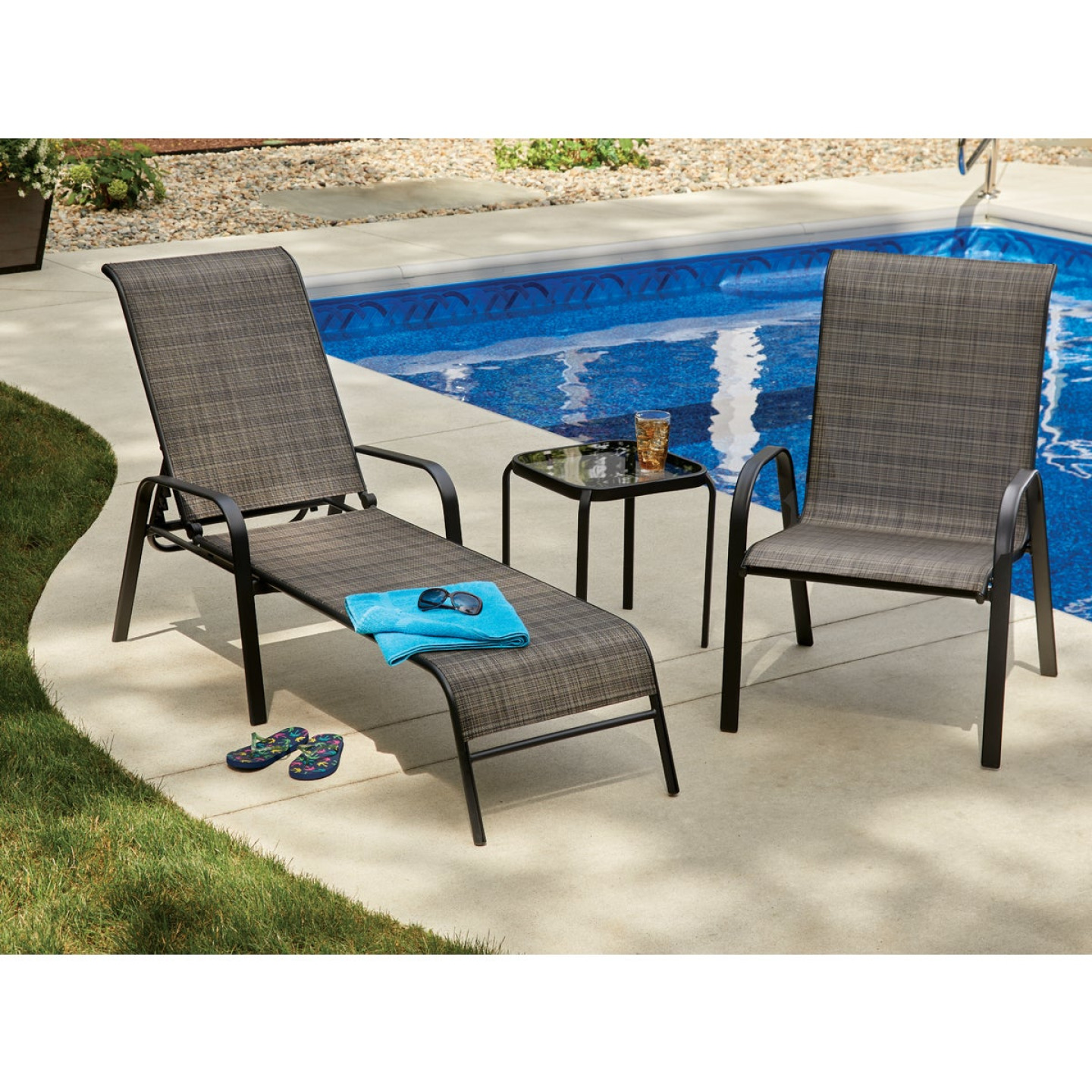 Outdoor Expressions Windsor Chaise Lounge Image 4