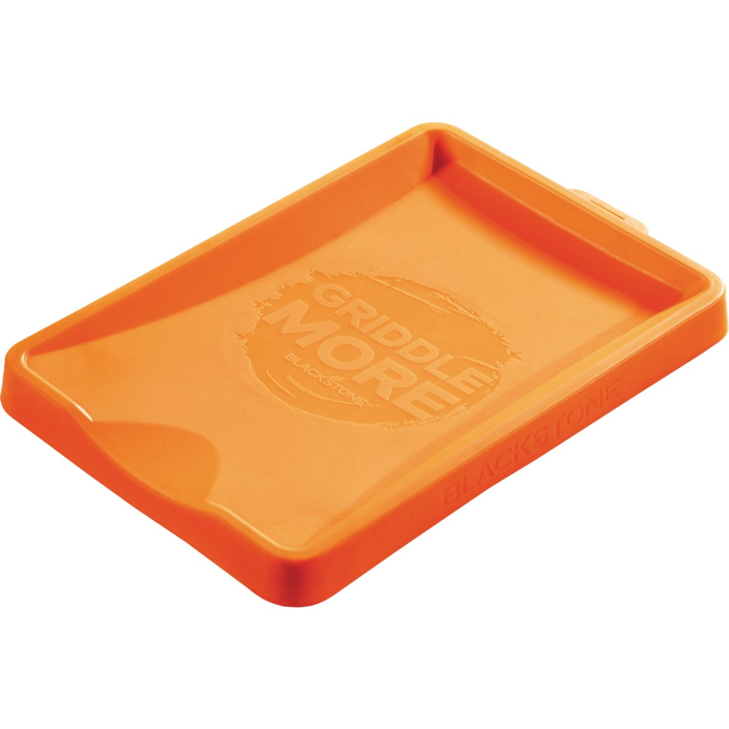 Blackstone 10-3/4 In. W. x 7 In. L. Orange Silicone Spatula Mat Image 1