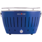 Grill Time Tailgater GT Blue 124 Sq. In. Charcoal Portable Grill Image 1