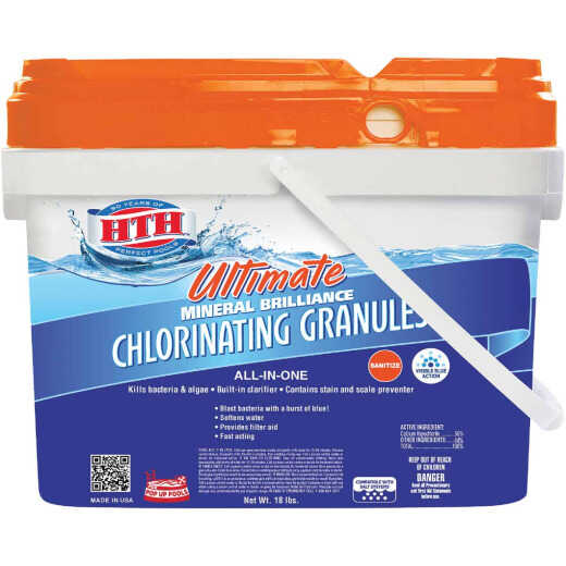 HTH 18 Lb. Ultimate Mineral Brilliance Chlorine Granule