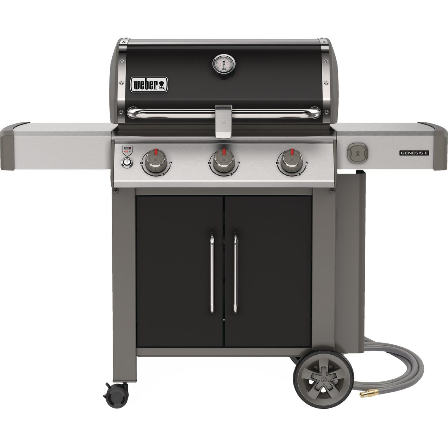 Genesis II SE-315 3-Burner Black 39,000 BTU Natural Gas Grill Image 1