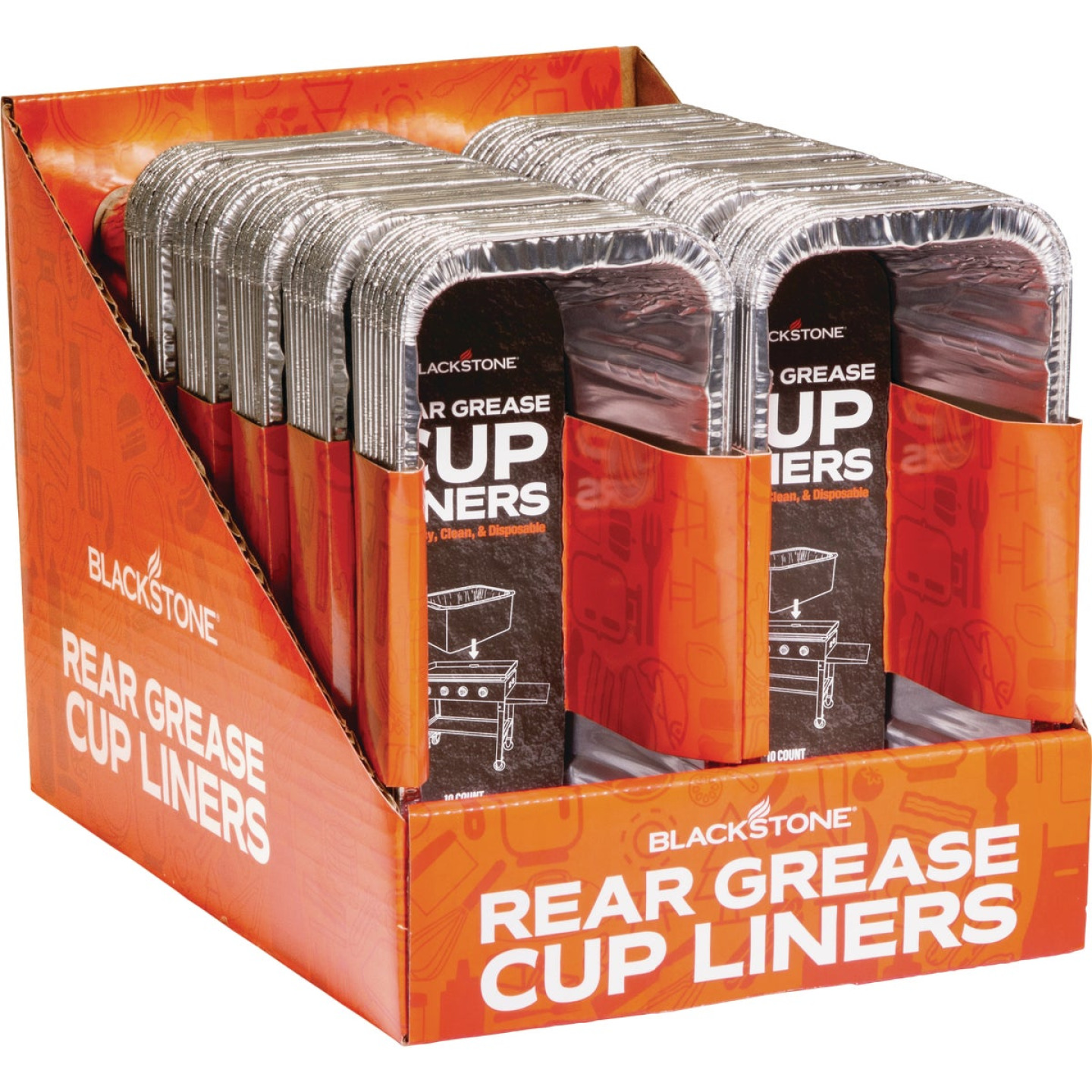 Blackstone Aluminum Foil Grease Cup Liner (10-Pack) Image 6