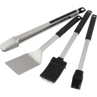 Broil King Baron Series Stainless Steel 4-Piece BBQ Tool Set Image 1