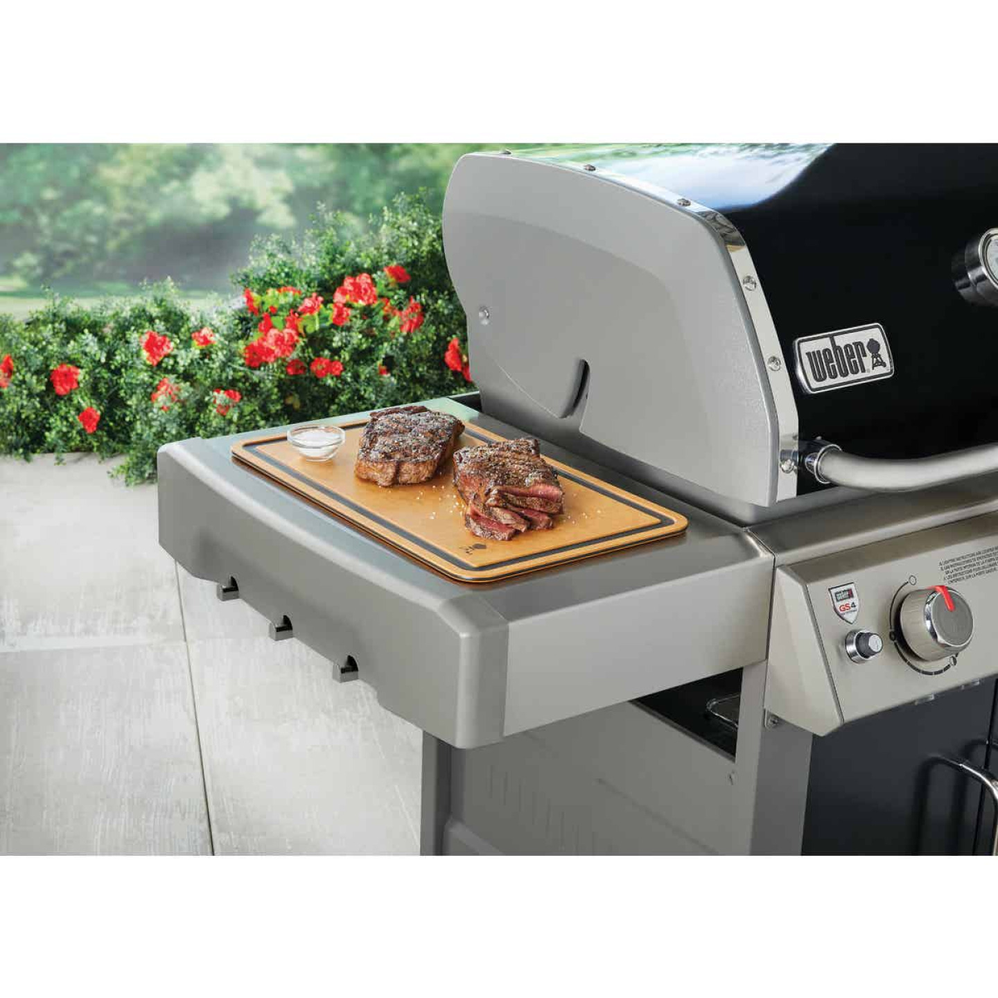 Weber 17.72 In. W. x 10.75 In. L. Cutting Board Image 2