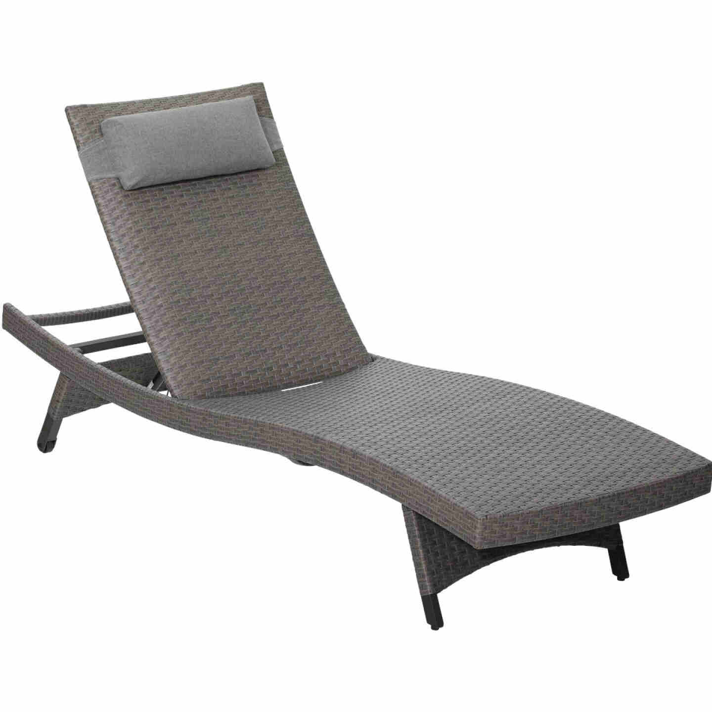 Pacific Casual Park Ridge Aluminum Chaise Lounge Image 1