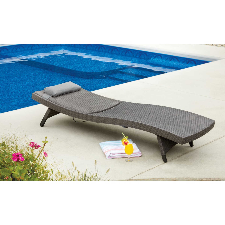 Pacific Casual Park Ridge Aluminum Chaise Lounge Image 4