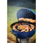 Weber Master-Touch 22 In. Dia. Deep Ocean Blue Charcoal Grill Image 3