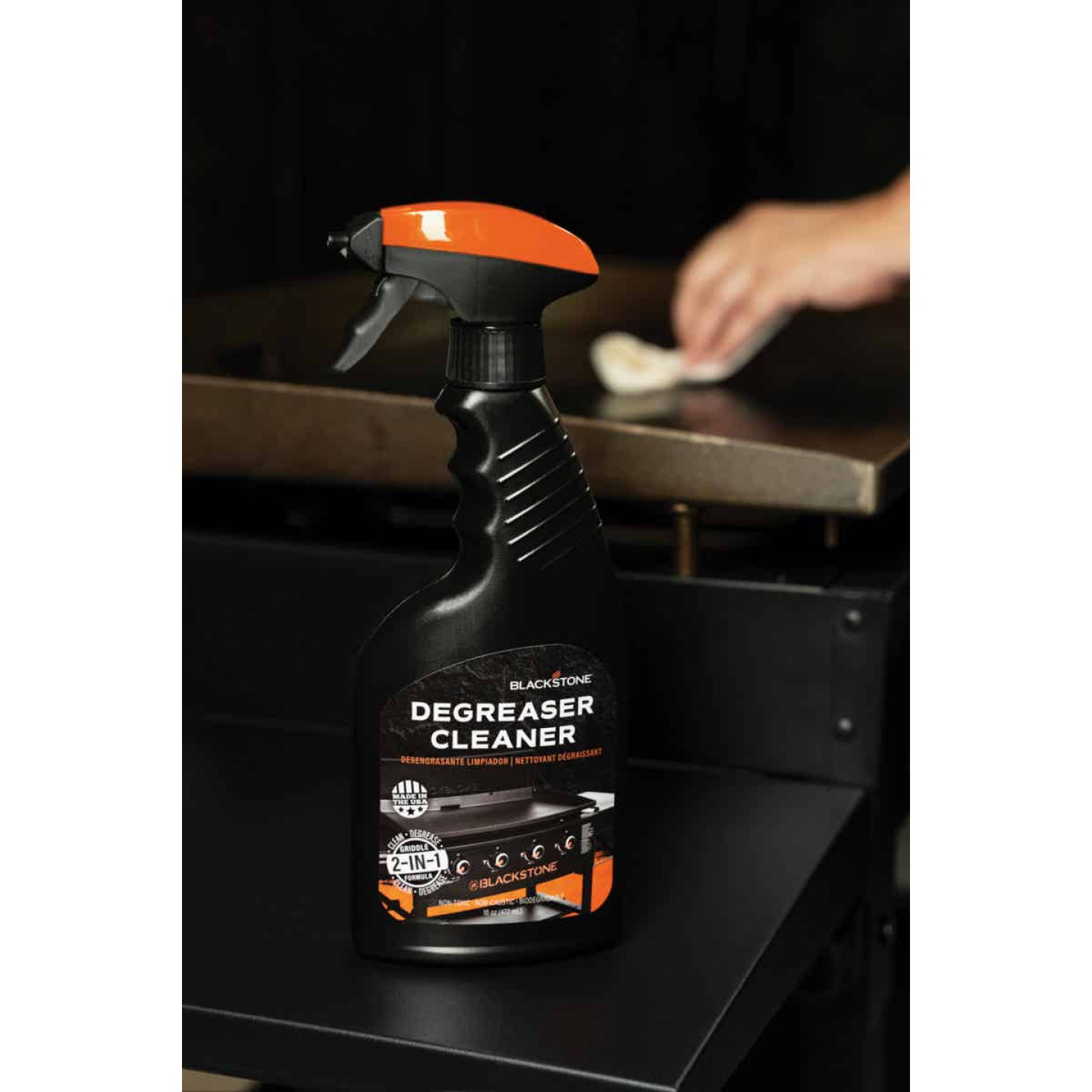 Blackstone 8 Oz. Trigger Spray Griddle Cleaner & Degreaser Image 2